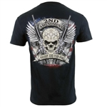 2nd Amendment Fought and Paid For Skull T-Shirt