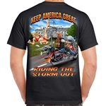 Men's Biker T-Shirts: Trumps Snitch Fell off