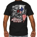 Men's Biker T-Shirts: Trumps Bitch Fell off