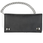 American Made Leather Chain Wallets: Biker Style 7''