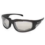 Padded Motorcycle Glasses - Clear Len's