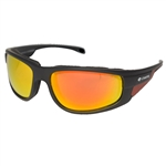 Padded Motorcycle Glasses - Red RevoLens