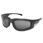 Padded Motorcycle Glasses - Smoke Len's