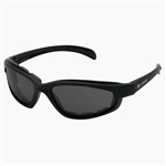 Padded Motorcycle Sunglasses - Smoke Lens