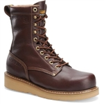 Men's Carolina Work Boots: 8'' Broad Toe Wedge