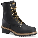 Carolina Logger Work Boots CA825 Black Elm Lace-Up