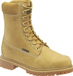 Mens Carolina Work Boots - Insulated Leather Nubuck