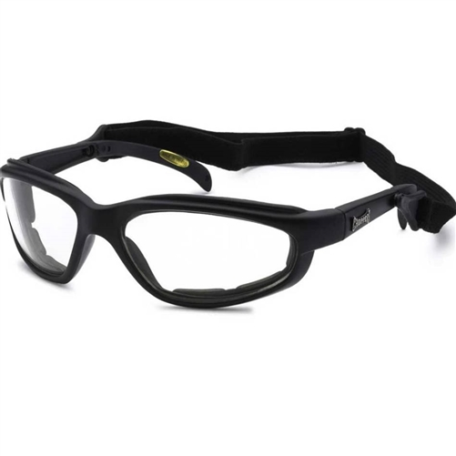 Clear Padded Motorcycle Riding Glasses for Night