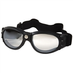 Padded Clear Motorcycle Goggles for Night Riding