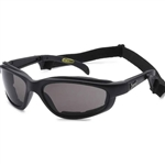 Padded Motorcycle Sunglasses w/ Strap, Choppers