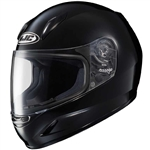 Youth Motorcycle Helmets - HJC Solid Gloss Black