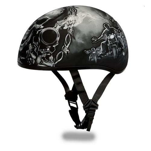 Lightweight Dot Daytona Half Motorcycle Helmets Skull Amp Guns