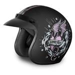 Good Girl Gone Bad Daytona Cruiser Ladies Motorcycle Helmet