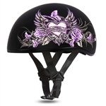 Wild Heart Ladies Motorcycle Helmet - Slim Daytona