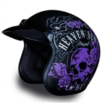 Heaven Sent Hellbound Daytona Cruiser Ladies Motorcycle Helmet