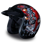 Daytona Cruiser Motorcycle Helmet: Joker
