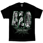 Men's Biker T-Shirts: David Gonzales 420 Smoke Shop