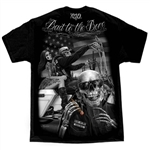 Men's Biker T-Shirts: David Gonzales Bad to Bone