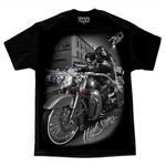 Men's Biker T-Shirts: DGA High Stakes