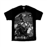 Men's Biker T-Shirts: David Gonzales Highway to hell