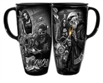 Ride or Die Biker Style Cruiser Coffee Mug