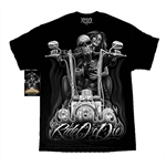 Men's Biker T-Shirts: DGA My Old LAdy