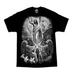 Religious Resurrection Shirt, Jesus & Angels by DGA Tee's