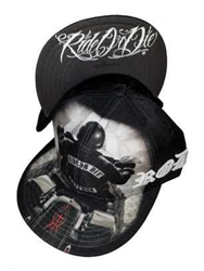 Ride or Die Biker Style Snap Back Hat