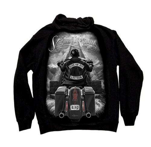 Motorcycle Hoodies Biker Dga Stairway To Heaven