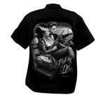 Men's Fresh Cut Shop Shirts: DGA, Frankenstein