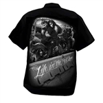 Men's Biker Shop Shirts: DGA Fast Lane