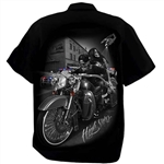 Men's Biker Shop Shirts: DGA, High Stakes