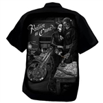 Men's Biker Shop Shirts: DGA , Partners, Ride Or Die