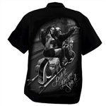 Men's Biker Shop Shirts: DGA Ride It Like You Stole It!