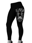 DGA Ride Or Die Biker Leggings