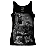 Biker Clothes: Ladies Ride Or Die Tank Top