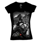 Biker Clothes: Ladies Ride Or Die Shirt, Highway To Hell