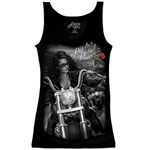 Biker Clothes: Ladies Ride Or Die Chick Tank Top