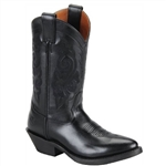 Double-H Black Women's Western Boot