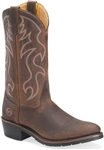 Double-H Men's Work Western Boots: USA Made