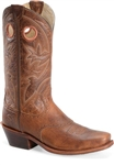 Mens Western Boots - Mens Distressed Leather Cowboy Boots