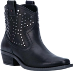 Dingo Studded Short Western Boots, Ladies