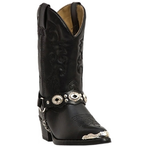 Kids Cowboy Boots *15% Off* Youth Black