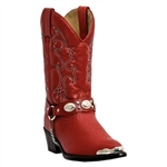 Red Dingo Kids Cowboy Boots: Girls Western Boots