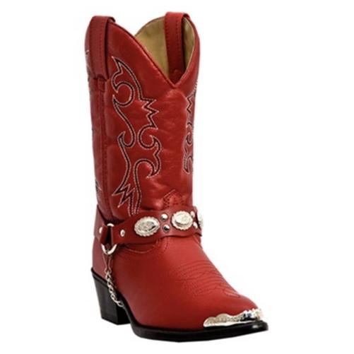Red Kids Cowboy Boots - Sale Dingo