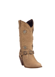 Dingo Womens Western Boots -  Chestnut Fashion Harness