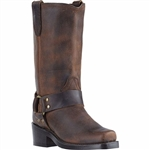 Womens Dingo Distressed Harness Boots: DI7374