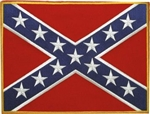 Biker Patches: Large Confederate flag