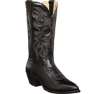 Dan Post Western Boots - Men's Mignon Black Leather
