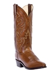 "Dan Post Men's Western Boots -  Mignon Tan Leather ""R Toe"""